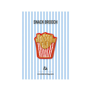 Snack brooch