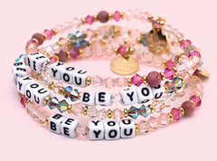 LITTLE WORDS PROJECT BE YOU BRACELETS