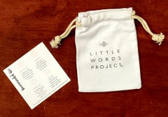 Little Words Project Canvas Bag and Instruction Insert