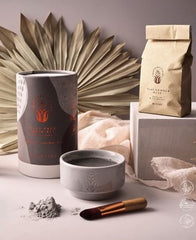 Wanderflower Clay Face Mask Gift Set by Wild+Wolf
