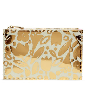 Pencil Pouch Golden Flowers
