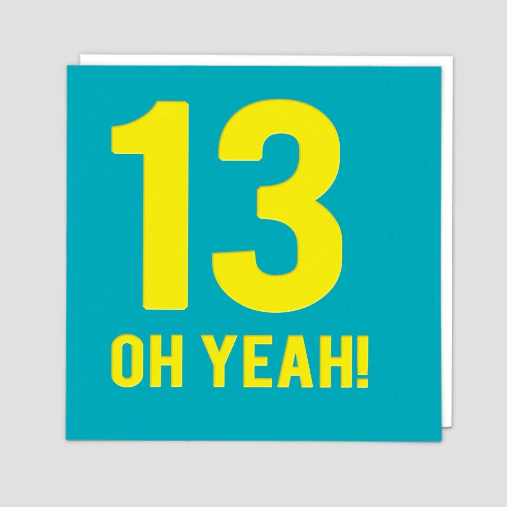 13 Oh Yeah!