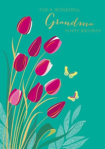 For A wonderful Grandma Tulips
