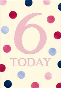 6th Birthday Emma Bridgewater Dots