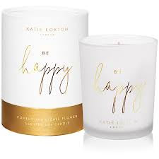 20 KL Sentiment Candle - Be Happy