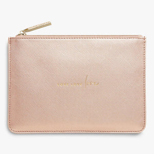 Petite Perfect Pouch - Love Love Love