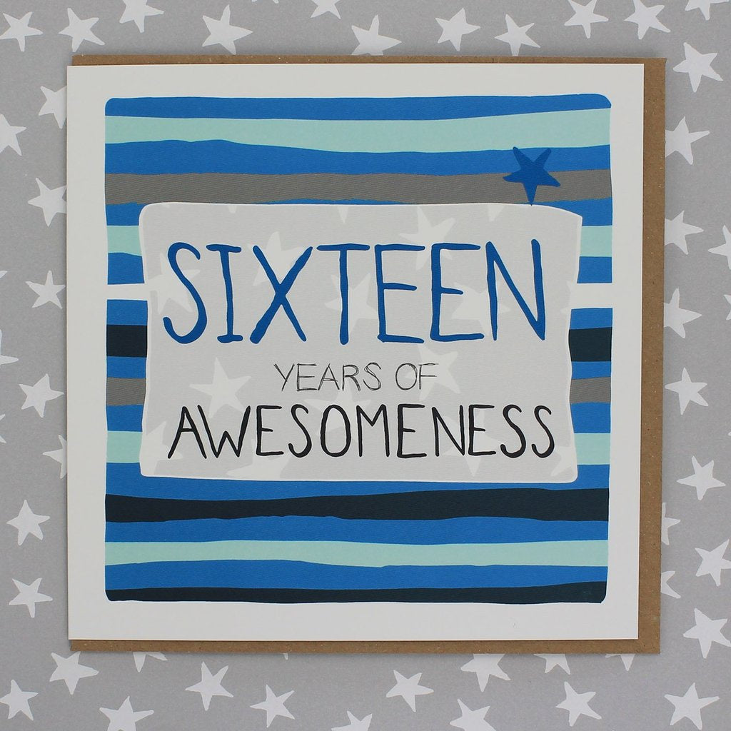 Sixteen Years of Awesomeness Blue