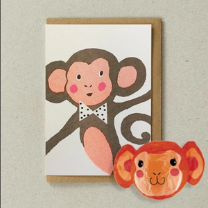 Monkey with Japanese Paper Balloon
