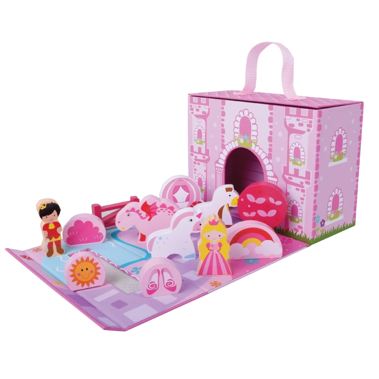Unicorn Castle Foldaway Play Scene