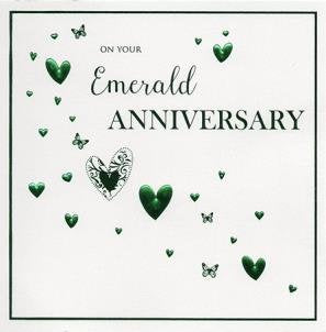 On Your Emerald Anniversary