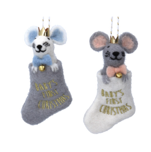 Baby`s 1st Christmas Mouse