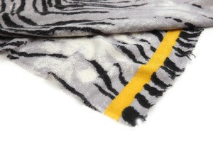 Animal Print/Yellow Border