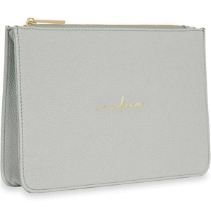 Pouch Live Dream Grey Stylish Structured