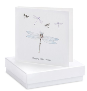 Dragonfly  Earring Card