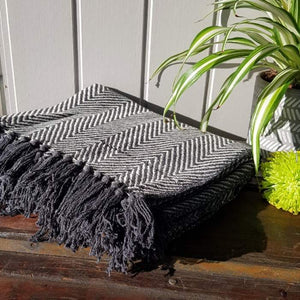 Chevron Woven Throw