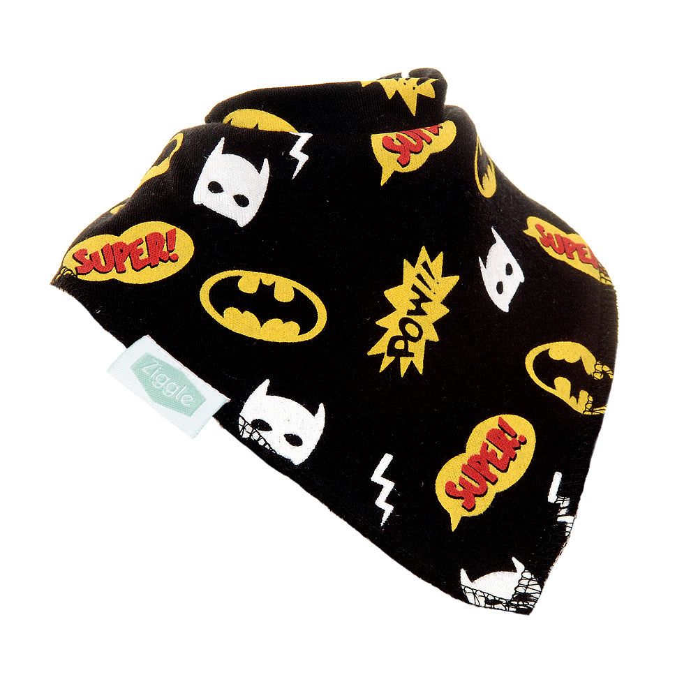 Super Hero Pow! Baby Bib
