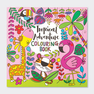 Tropical Adventure Colouring Book