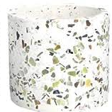 Load image into Gallery viewer, Small Terrazzo Stone Round Pot Cover