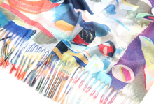 Load image into Gallery viewer, Art Print Scarf