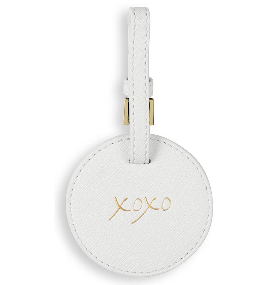 20 KL White Luggage Tag XOX