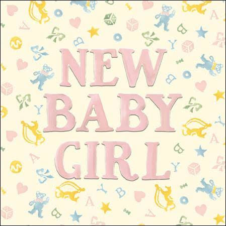 Emma Bridgewater New Baby Girl