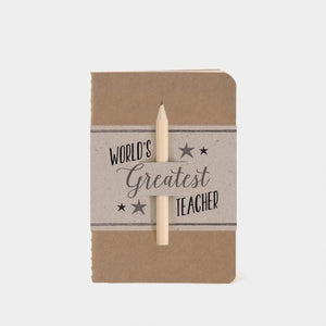 20 EoI Worlds Greatest Teacher Notebook