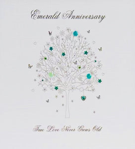 Emerald Anniversary - True love Never Grows Old