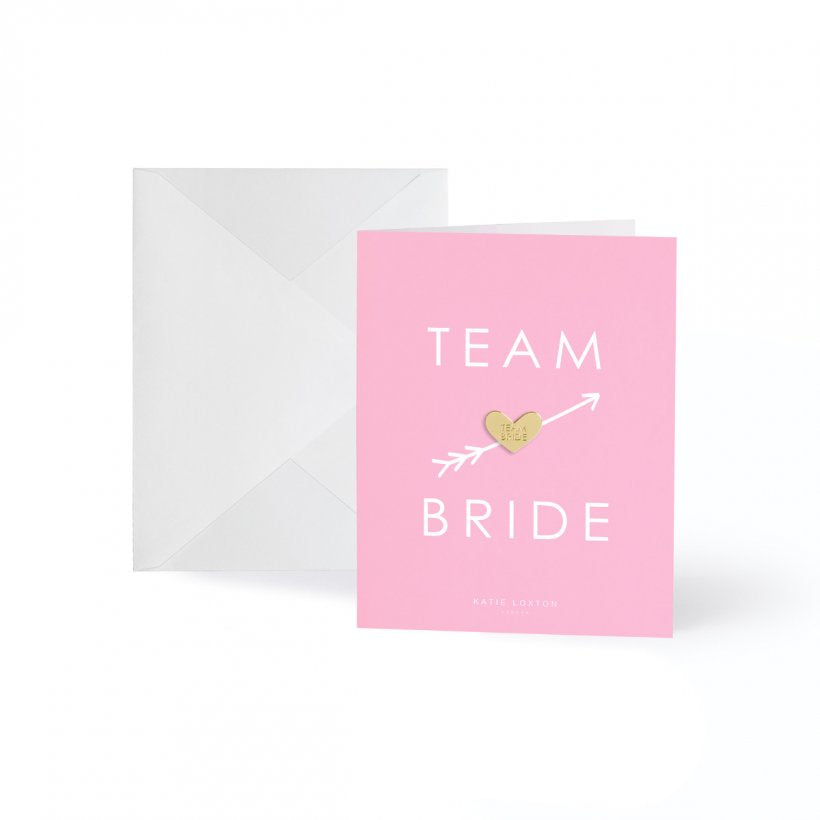 Team Bride with Gold Badge