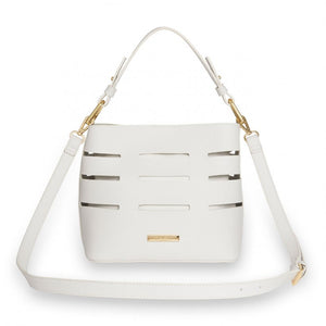 Alain White Shoulder Bag