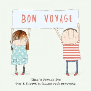 Bon Voyage - That's French