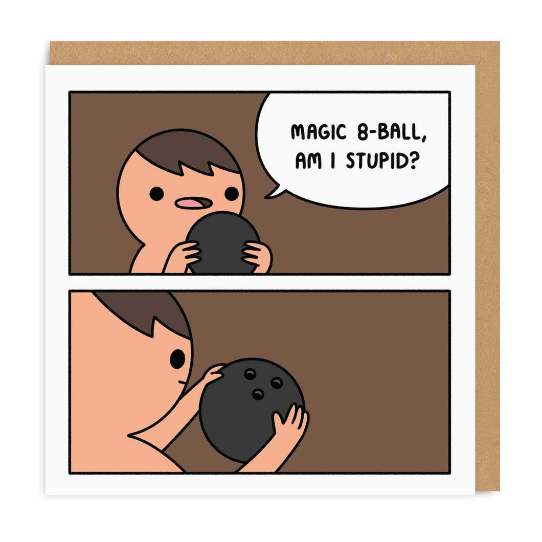 Magic 8-Ball, Am I Stupid?