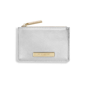 Alise Card Holder Metallic Silver