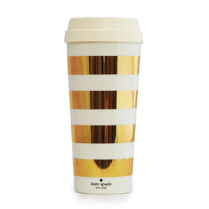 Thermal Gold Stripe Mug