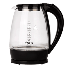 Rays' special transparent electric kettle.