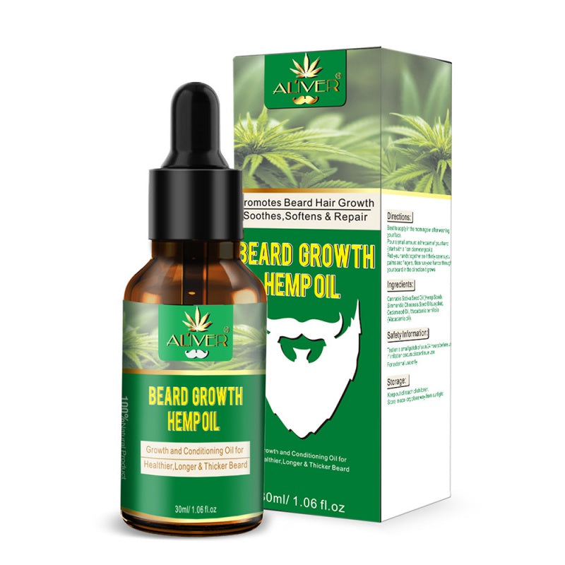 Beard Growth Hemp Oil