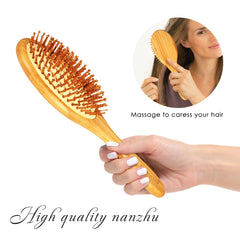 Bamboo Wooden Hair Comb