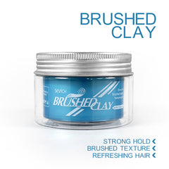 Strong Hold Brushed Hair Clay