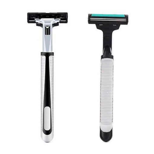 1 Handle + 36 Pcs Shaving Razors Blades