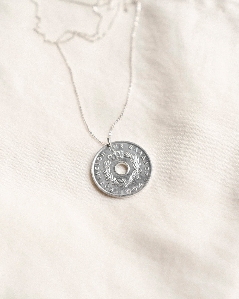 Grapes Donut Coin Necklace | Greece
