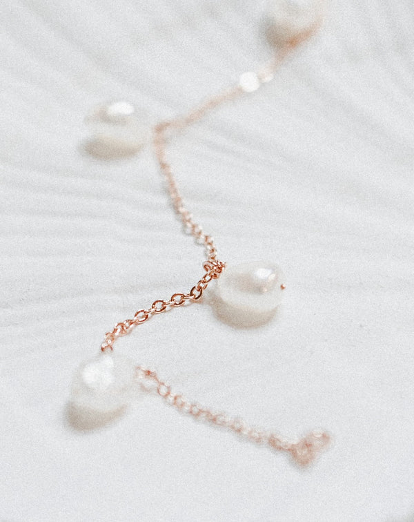 Tiffany Pearl Bracelet | Rose Gold