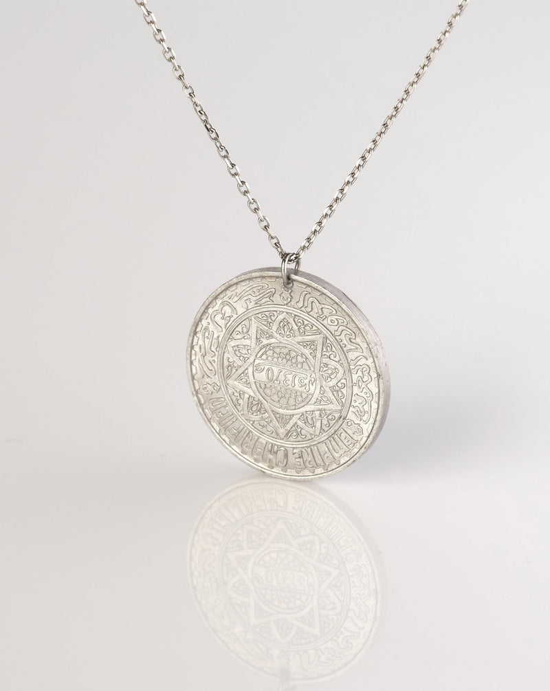 8 Point Star Coin Necklace | Morocco