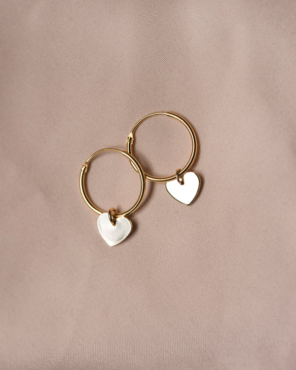 Love Heart Hoops
