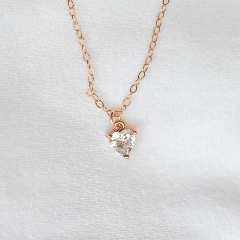 Crystalline Heart Necklace