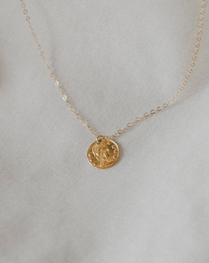 Ares Coin Necklace