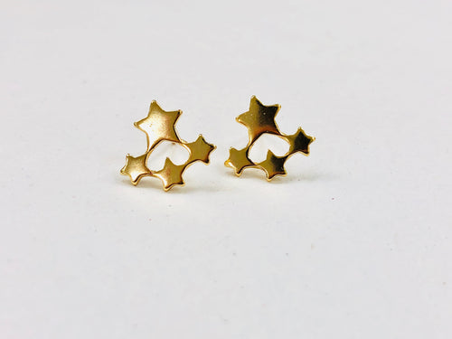 Star Cluster Post Earrings
