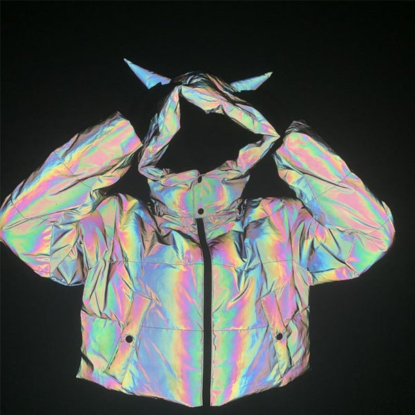Doudoune Reflechissante<br> Flashy - Streetwear Shop