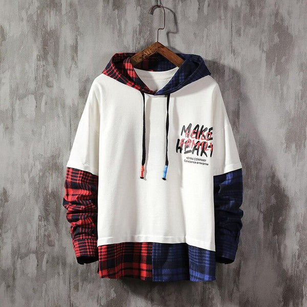 Hoodie Streetwear<br>Make Heart - Streetwear Shop