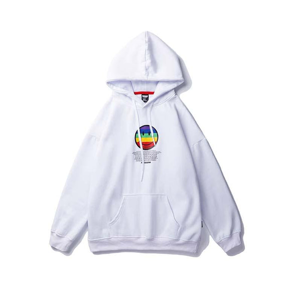 Hoodies Streetwear<br> Happy - Streetwear Shop