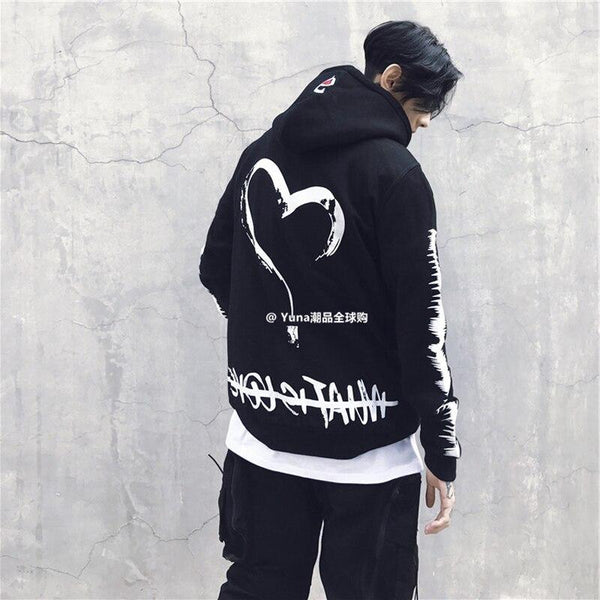 Hoodies Streetwear<br> Heart - Streetwear Shop