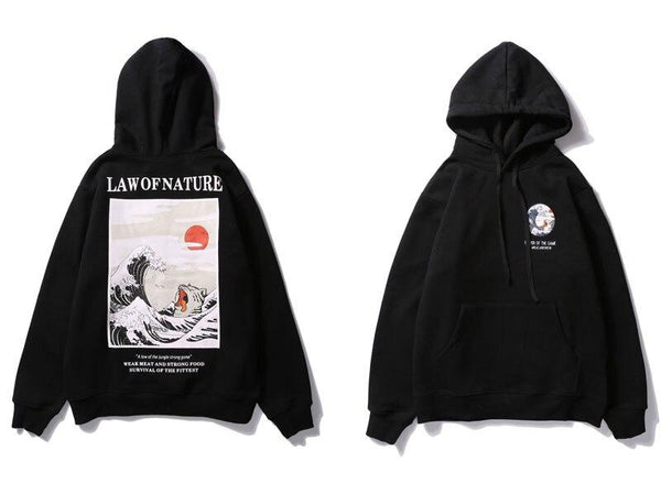 Hoodies Streetwear<br> Law of Nature - Streetwear Shop